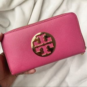 SOLD Pink Tory Burch Wallet